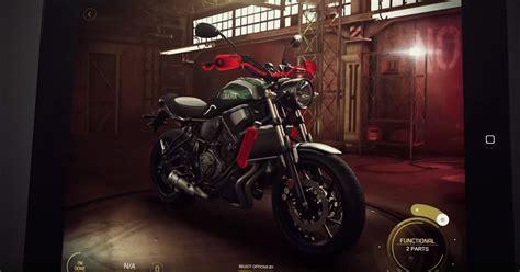 garaje yamaha yamaha launches my garage bike customization app