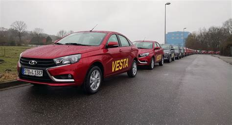 Lada Europe A Bit Of Money For A Lot Of Car Lada Vesta Starts