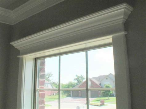 Crown Molding Around Windows Ideas Planning Ideas Window Crown Molding Ideas Crown Molding Ideas For Ceiling Decorations How To