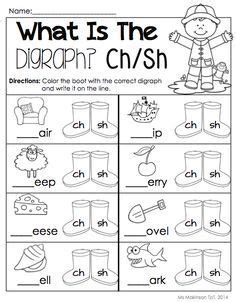 april printable packet kindergarten literacy and math
