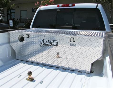 truck bed gas tank toolbox and fuel tank combos transfer flow inc