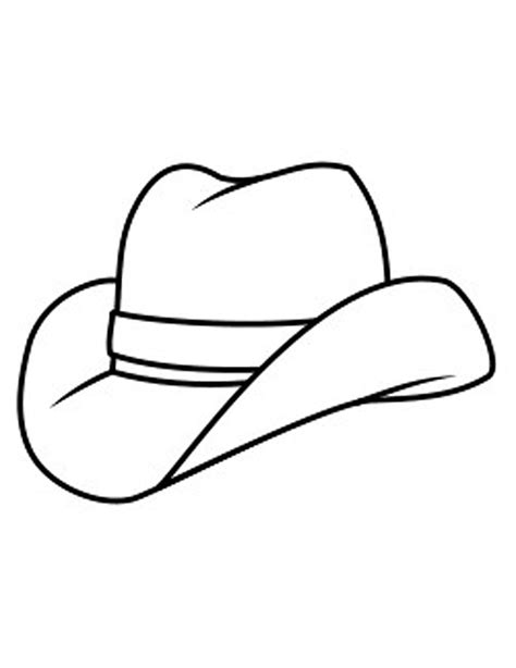 Hat To Color Hat Coloring Pages Printable Coloring Part 4