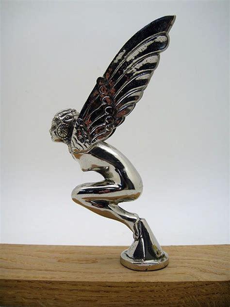 deco car mascots vintage deco car ornament mascot wings flying classic automobilia vintage