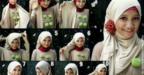 Model Terbaru Dan Cara Memakainya Model Jilbab Pashmina Kebaya Dan Cara Memakainya Modern