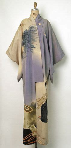 Kimono Blue Lbkim038 Metropolitan 1 sold antique blue silk kimono robe with colorful