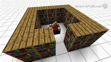 bookshelves and enchantment tables enchanting minecraft 101