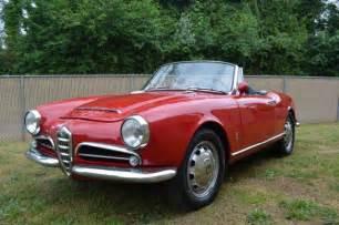1965 Alfa Romeo 1965 Alfa Romeo Giulia Spider Photo Documented Restoration