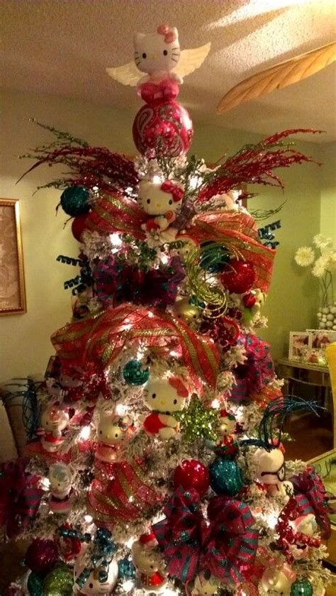 25 best ideas about hello kitty christmas tree on