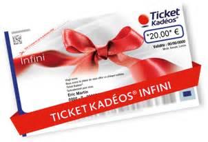 Magasin Ticket Kadeos Infini