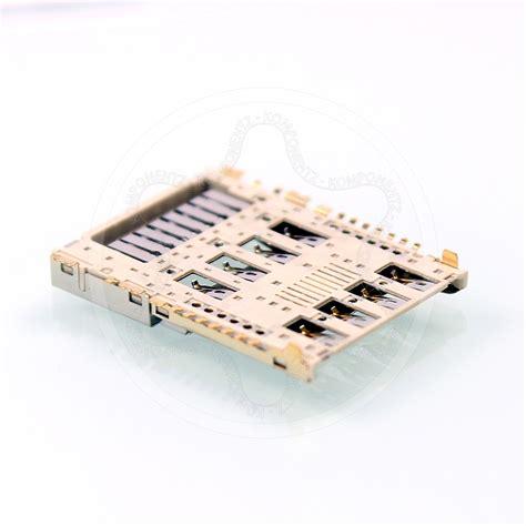 Sale Kancing Slot Memory genuine lg g3 s d722 sim card reader sd memory reader slot tray holder