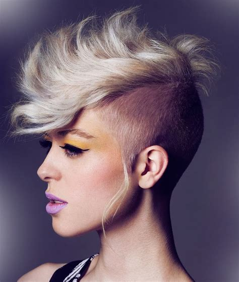 Mohawk Hairstyles For Females by Mohawk Hairstyles For Modern Look Hairstyles Spot