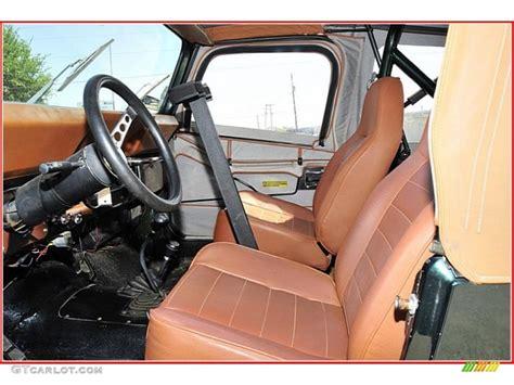 Cj Upholstery by 1983 Jeep Cj 7 4x4 Interior Color Photos Gtcarlot