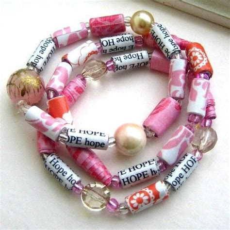 Paper Bead Jewelry Ideas - paper bead jewelry craft ideas