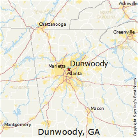 best places to live in dunwoody, georgia