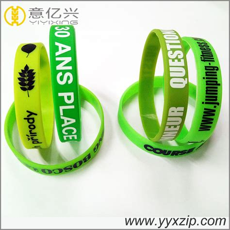 Gelang Remaja silikon kosong kosong gelang logo untuk remaja pengilang china