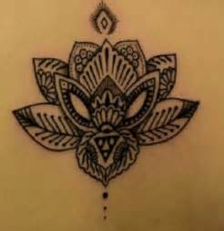Mandala Lotus Flower Tattoo Designs