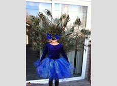 Homemade Peacock Costume Idea Funny Group Halloween Costumes Girls