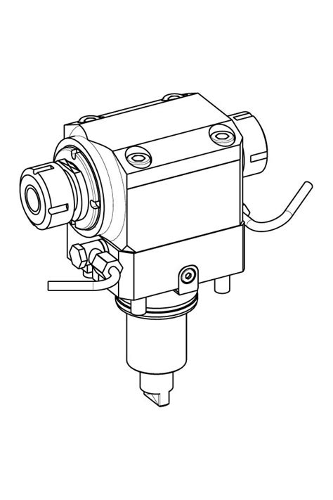 M.T. S.r.l. – AXIAL OPPOSITE FACE TWIN DRIVEN TOOL H=70 mm