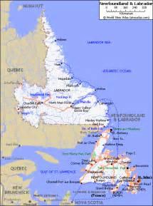 newfoundland maps by newfoundland ws
