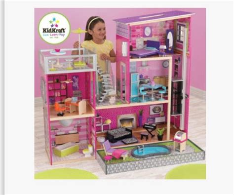 costco doll house kids craft doll house from costco payton pinterest
