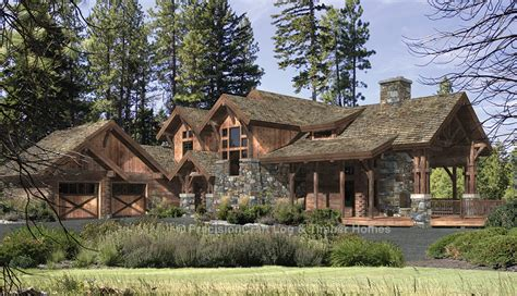 eagle s nest log home plan by precisioncraft log timber