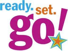 Is for kindergarten ready set go