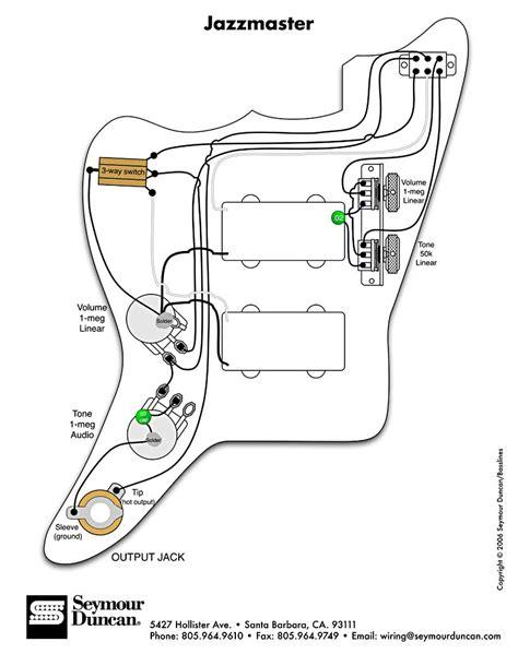 fender jaguar hh wiring diagram wiring diagrams repair
