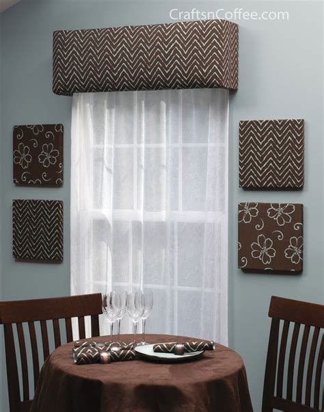 Make Your Own Cornice Home Decorating Diy Make Your Own Custom Window Cornices