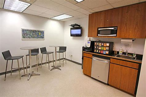 office pantry furnished private office suite in class a building 10019