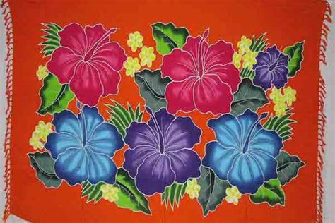 sarong exclusive painting designs