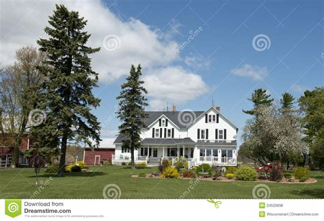 big farmhouse big rural country farmhouse wisconsin dairy farm royalty