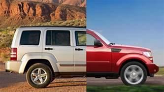 Jeep Liberty Dodge Nitro Dodge Nitro And Jeep Liberty To Merge Into One Vehicle