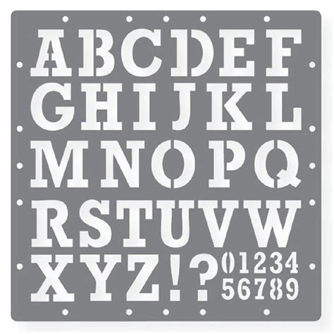 printable letters and numbers free printable letters and numbers stencils paper crafts