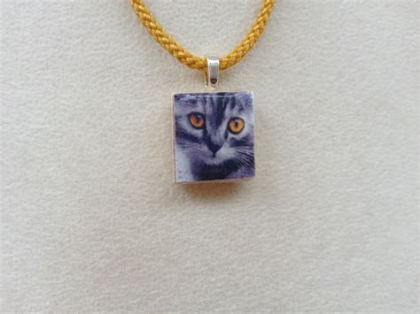 scrabble pendants scrabble tile pendant necklace cat 183 knotjustknots