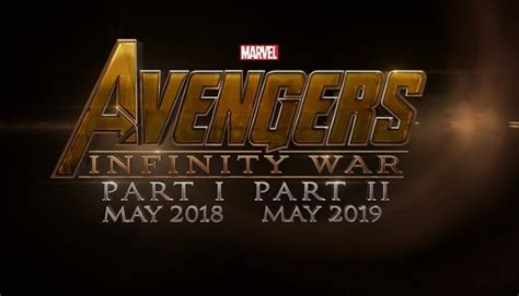 slate of wars through 2019 a powerful in marvel studios announces infinity war