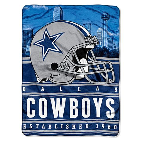 dallas cowboys home decor dallas cowboys stacked silk touch throw blanket home