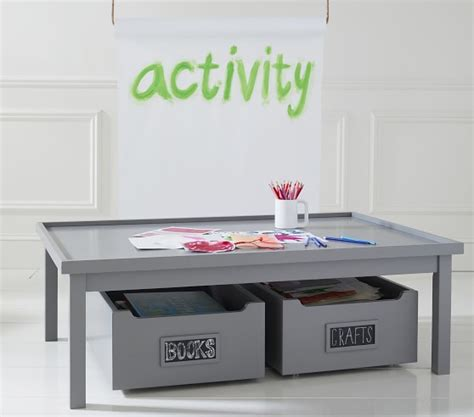 pottery barn carolina activity table carolina grow with you activity table pottery barn