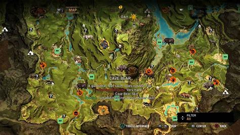 where to find far cry primal ingredients and skins location guide
