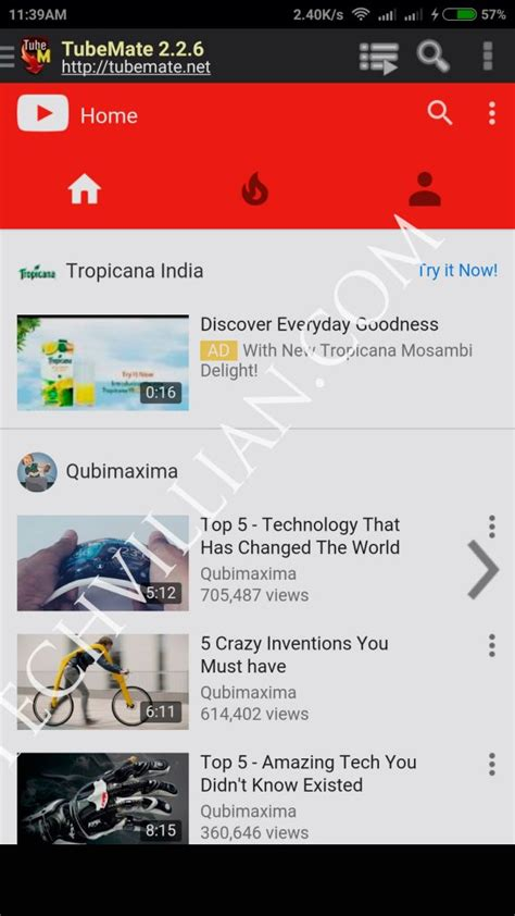tubemate android tubemate app installation removal alternatives etc