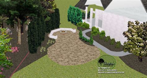 franklin tn back yard landscape design archives