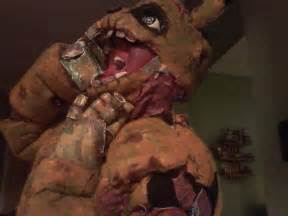 Hey kids want to see a dead body fnaf springtrap by cannibalvegan on