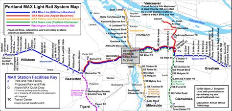 trimet max map world nycsubway org portland max route map