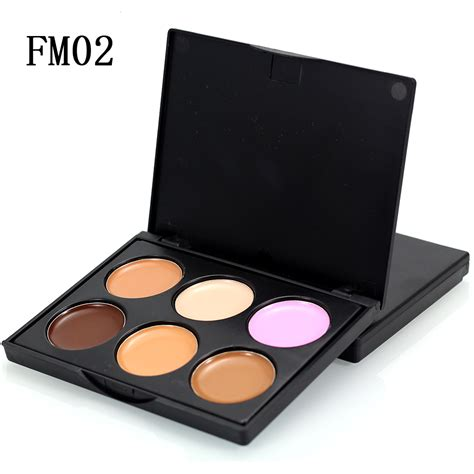 Make Foundation Palette Wgc 6 color makeup concealer make up contour palette foundation cosmetic hide