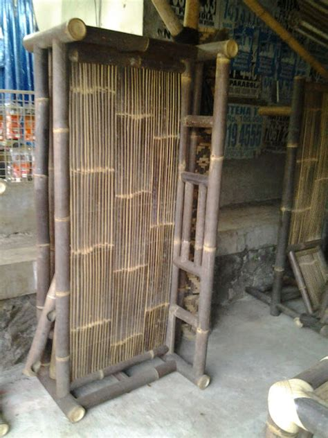 Kursi Bale Bambu ukm kursi bambu dan kerai bambu komunitas topi bambu