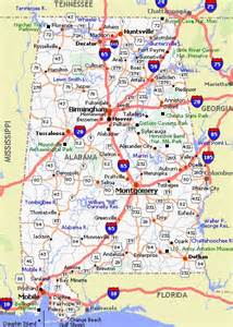 us map of alabama alabama poster dealers and travel map