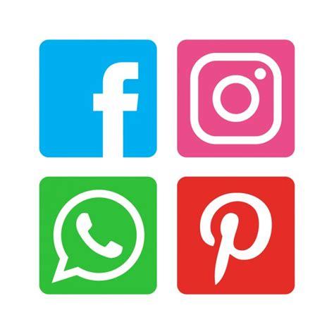 imagenes de redes sociales gratis paquete de iconos flat de las redes sociales descargar
