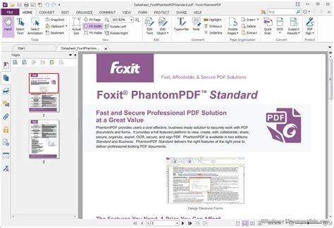Foxit Phantompdf Business 8 foxit phantompdf business 8 1 1 1115 free