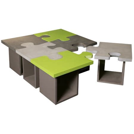 table basse puzzle bton batel table basse moderne batel
