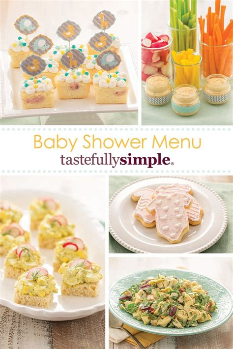 simple baby shower foods are you searching for recipes to make for your baby shower