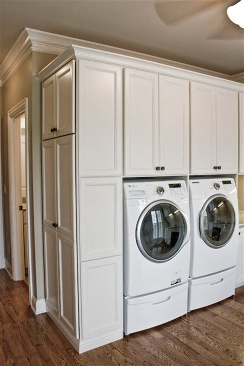 Laundry Cabinets Family Craft Laundry Room Traditional Laundry Room
